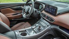 Nuova Hyundai Santa Fe: gli interni