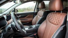 Nuova Hyundai Santa Fe: i sedili in pelle