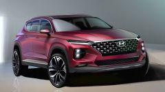 Nuova Hyundai Santa Fe, la prima immagine teaser