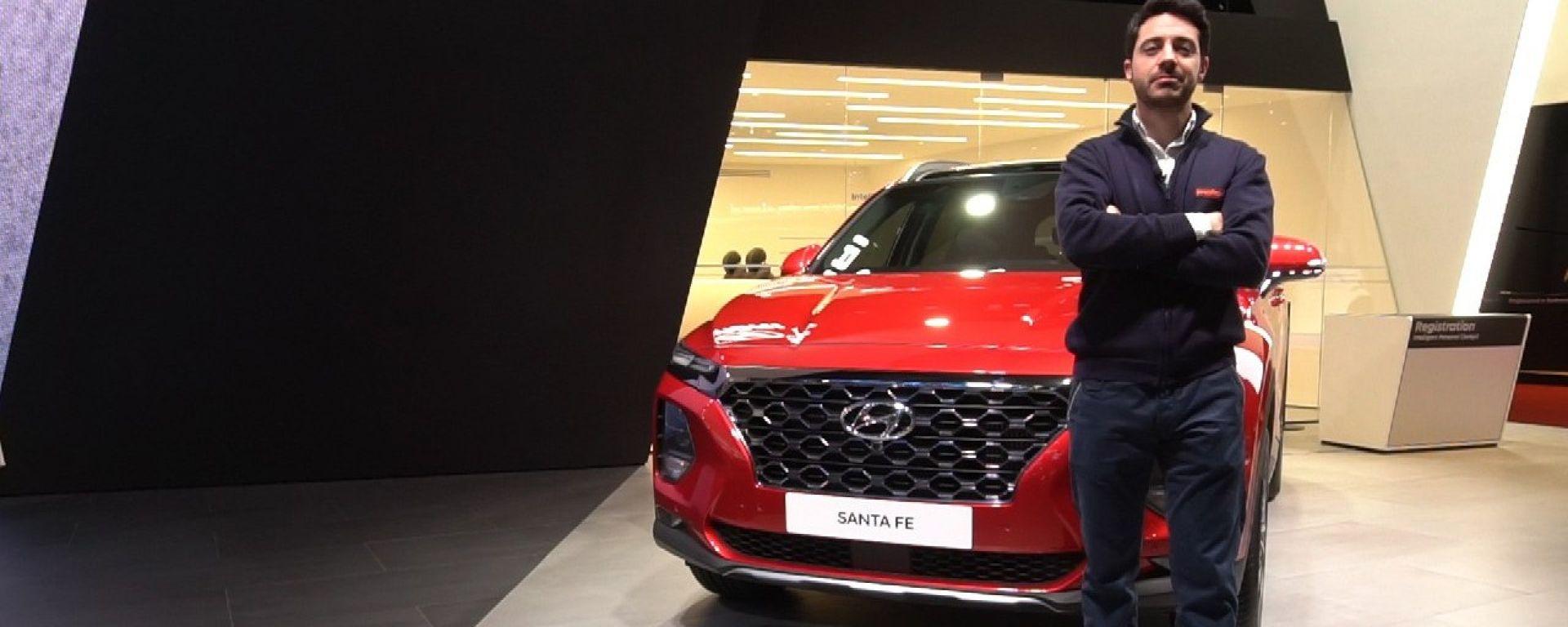 Nuova Hyundai Santa Fe, Live Salone di Ginevra 2018