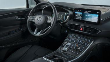 Nuova Hyundai Santa Fe PHEV: gli interni