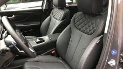 Nuova Hyundai Santa Fe PHEV: i comodi e climatizzati sedili anteriori
