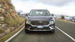Nuova Hyundai Santa Fe: visuale frontale
