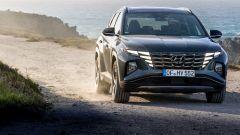 Nuova Hyundai Tucson 2021 in off-road