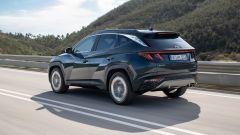 Nuova Hyundai Tucson 2021: posteriore
