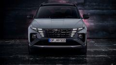 Nuova Hyundai Tucson N Line: visuale anteriore