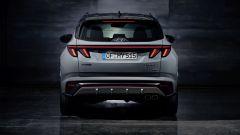 Nuova Hyundai Tucson N Line: visuale posteriore