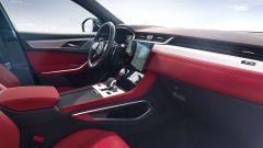 Jaguar F-Pace facelift, nuovi interni e due motori ibridi - Immagine: 7