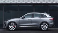 Jaguar F-Pace facelift, nuovi interni e due motori ibridi - Immagine: 11