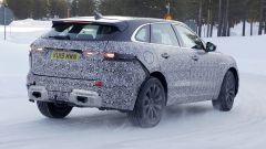 Nuova Jaguar F-Pace: una vista di 3/4 posteriore
