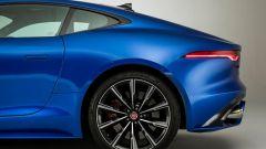 Nuova Jaguar F-Type 2020: un dettaglio della coda