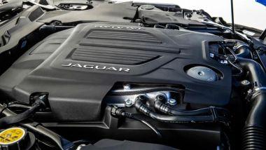 Nuova Jaguar F-Type: il motore 5.0 montato longitudinalmente
