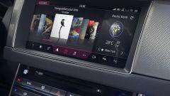 Nuova Jaguar XF Sportbrake: il monitor touch del sistema di infotainment