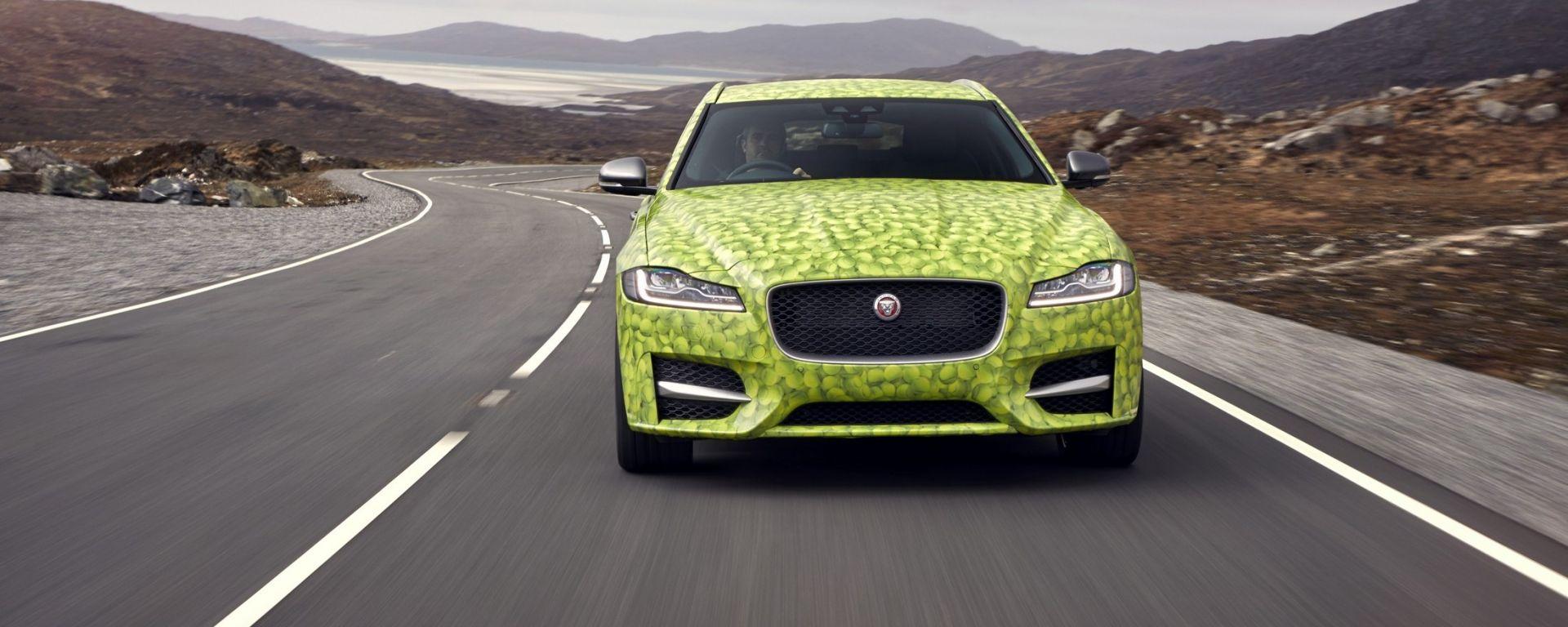 Nuova Jaguar XF Sportbrake: la nuova immagine teaser