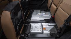 Nuova Jeep 4xe 2021: la batteria sotto i sedili posteriori