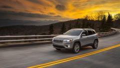 Nuova Jeep Cherokee 2018: vista 3/4 anteriore