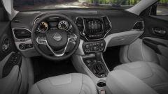 Nuova Jeep Cherokee 2018:gli interni