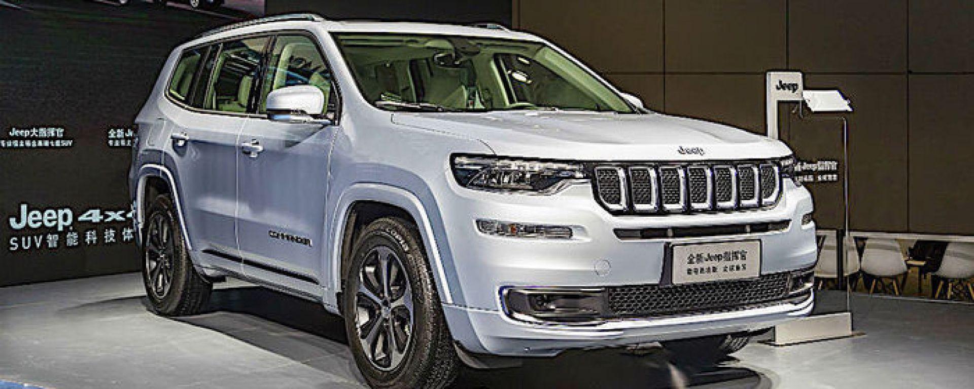 Nuova Jeep Commander PHEV: la sua presentazione in pubblico