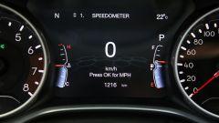 Nuova Jeep Compass 2020, il quadro strumenti