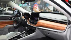 Nuova Jeep Compass 2021 al salone di Guangzhou, gli interni