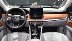 Nuova Jeep Compass 2021 al salone di Guangzhou, la nuova finitura della plancia