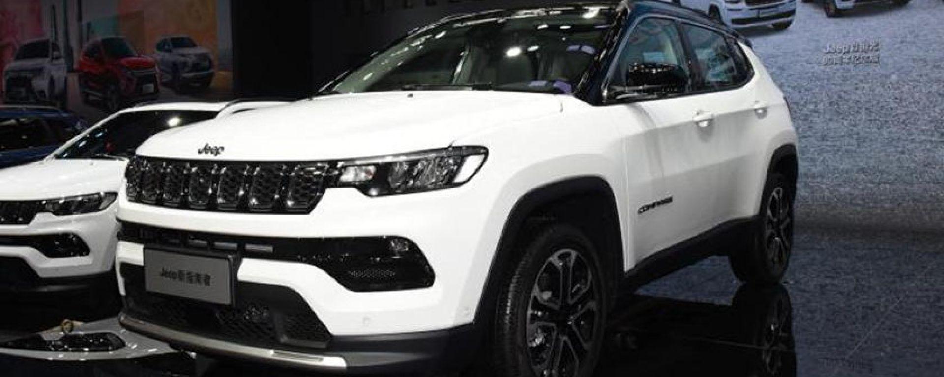 Nuova Jeep Compass 2021 al salone di Guangzhou