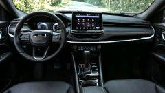 Nuova Jeep Compass 2021: gli interni della 80° Anniversario
