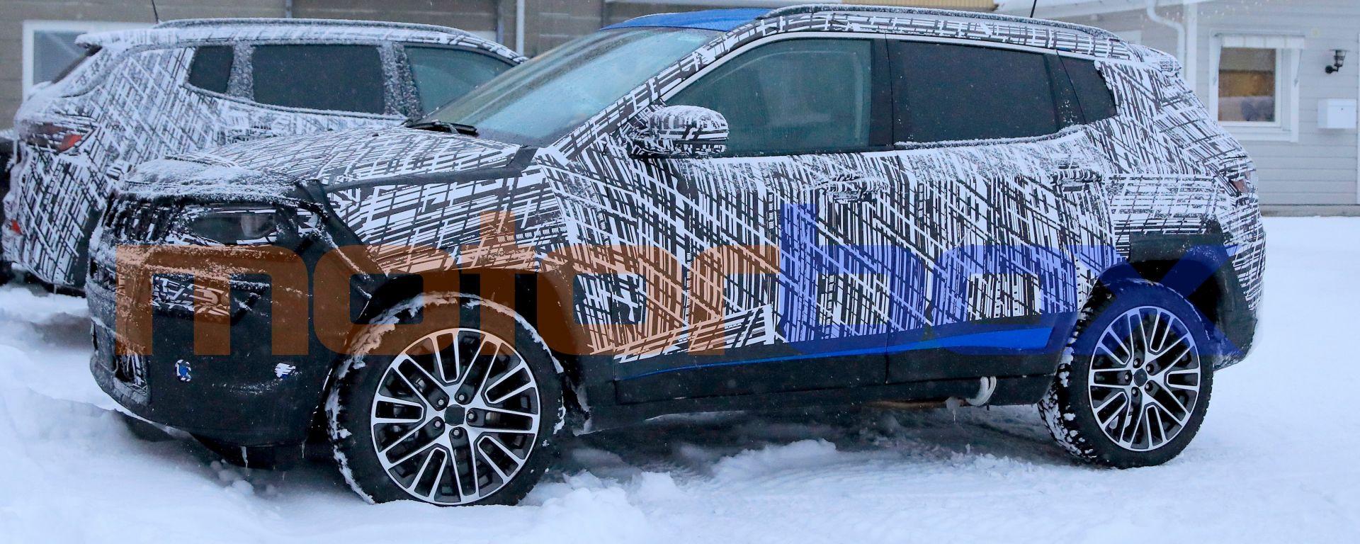 Nuova Jeep Compass 2021: i collaudi sulla neve della Svezia