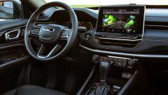 Nuova Jeep Compass 2021: la 80° Anniversario, il posto guida