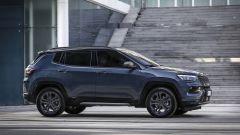 Nuova Jeep Compass 2021: la 80° Anniversario, vista laterale