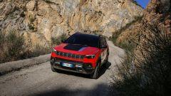 Nuova Jeep Compass 2021: la Trailhawk 4xe, vista di 3/4 anteriore