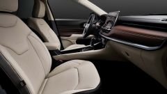 Nuova Jeep Compass 2021: la versione Limited, i sedili anteriori