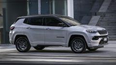 Nuova Jeep Compass 2021: la versione S, vista laterale