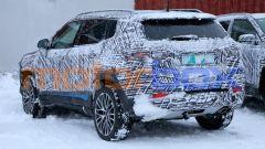 Nuova Jeep Compass 2021: le pellicole mimetiche sono ancora molto estese sul posteriore
