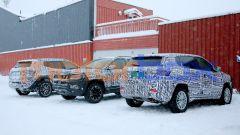 Nuova Jeep Compass 2021: un altro momento di pausa durante i test sulla neve