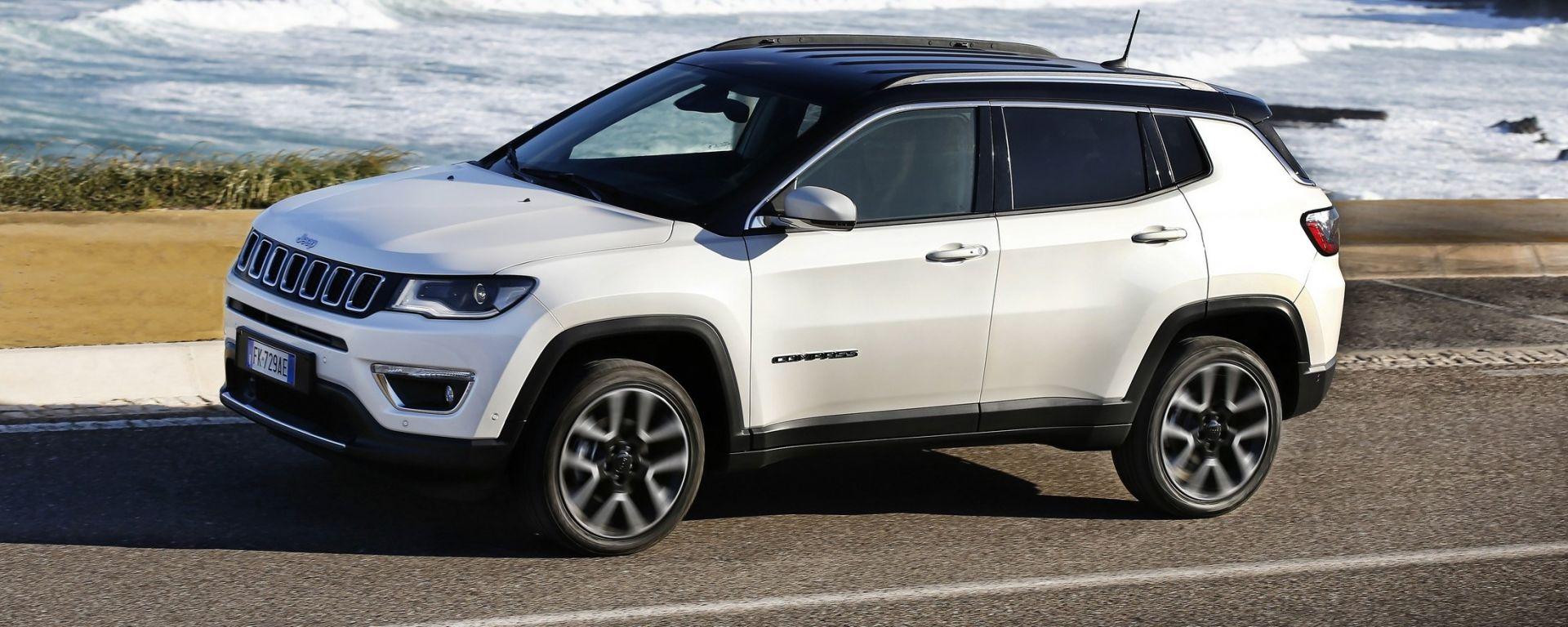 Jeep Grand Cherokee White 2017 >> La prova su strada della nuova Jeep Compass - MotorBox