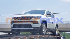 Nuova Jeep Compass mHEV mild hybrid, il frontale