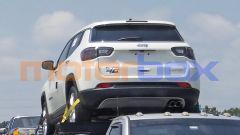 Nuova Jeep Compass mHEV mild hybrid, il posteriore