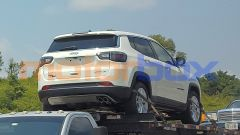 Nuova Jeep Compass mHEV mild hybrid sulla bisarca