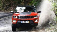 Nuova Jeep Compass Trailhawck: vista anteriore