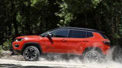 Nuova Jeep Compass Trailhawck: vista laterale