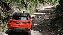Nuova Jeep Compass Trailhawck: vista posteriore