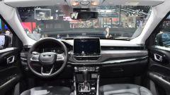Nuova Jeep Compass Trailhawk 2021 al salone di Guangzhou, la plancia