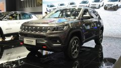 Nuova Jeep Compass Trailhawk 2021 al salone di Guangzhou, vista 3/4 anteriore