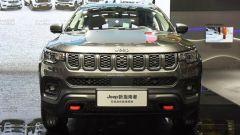 Nuova Jeep Compass Trailhawk 2021 al salone di Guangzhou, vista frontale