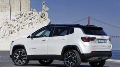 Nuova Jeep Compass: vista 3/4 posteriore