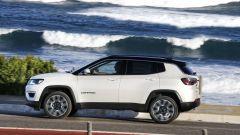 Nuova Jeep Compass: vista laterale