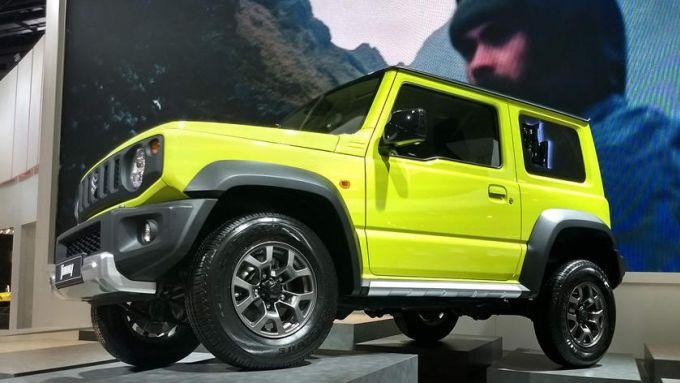 Nuova Jeep compatta 2022: la sua rivale più accreditata, la Suzuki Jimny