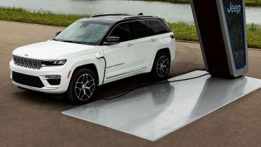 Nuova Jeep Grand Cherokee 2022: presentata online il 29 settembre anche PHEV