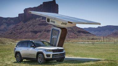 Nuova Jeep Grand Cherokee: arriverà anche la 4Xe, con motore plug-in hybrid e 40 km a zero emissioni